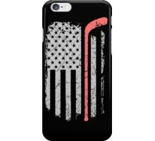 Hockey USA Flag iPhone Case/Skin