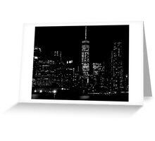 New York City in B&W Greeting Card