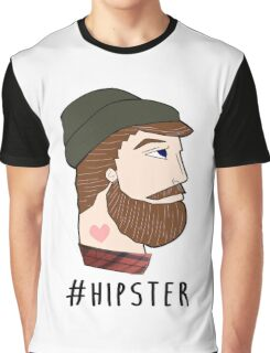 #hipster Graphic T-Shirt
