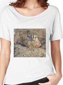 Brown Noser - Badger Women's Relaxed Fit T-Shirt