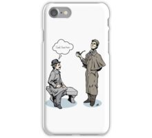 Victorian Sherlock and Watson - God, I love him.  iPhone Case/Skin
