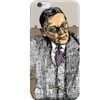 I'm Listening .. Go on, Speaks iPhone Case/Skin