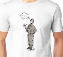 Victorian Sherlock - Not a clue.  Unisex T-Shirt