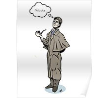 Victorian Sherlock - Not a clue.  Poster