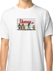 Unhinged Character Line-Up Classic T-Shirt