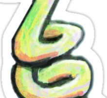 Slinky Wormb Sticker