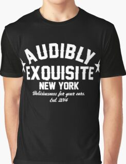 Audibly Exquisite - Knockout Graphic T-Shirt