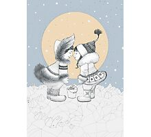Kiss eskimo Photographic Print