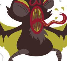 Icky Vampire Bat Sticker
