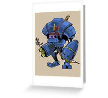 Robot Brave Greeting Card