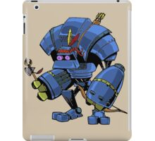 Robot Brave iPad Case/Skin