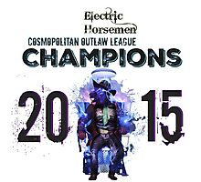2015 COL Champions - Electric Horsemen Photographic Print