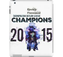 2015 COL Champions - Electric Horsemen iPad Case/Skin