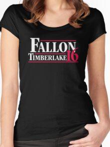 Fallon timberlake 16 Women's Fitted Scoop T-Shirt