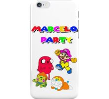MARCELO PARTY iPhone Case/Skin