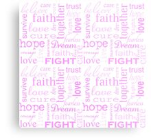 Breast Cancer Metal Print