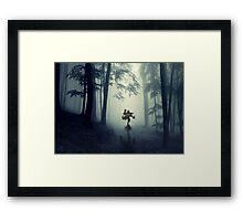 Skull Kid in Forest Framed Print
