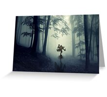 Skull Kid in Forest Greeting Card