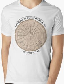 50th Anniversary (fcb) Mens V-Neck T-Shirt