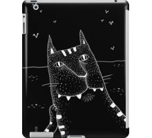 Waiting for the fisherman's boat iPad Case/Skin