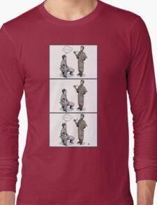 Victorian Sherlock and Watson - Love and Hate Long Sleeve T-Shirt