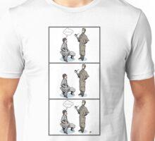 Victorian Sherlock and Watson - Love and Hate Unisex T-Shirt
