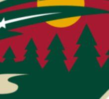 Minnesota Wild Logo Sticker