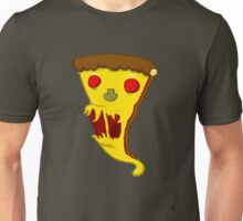 SCARY PIZZA! Unisex T-Shirt