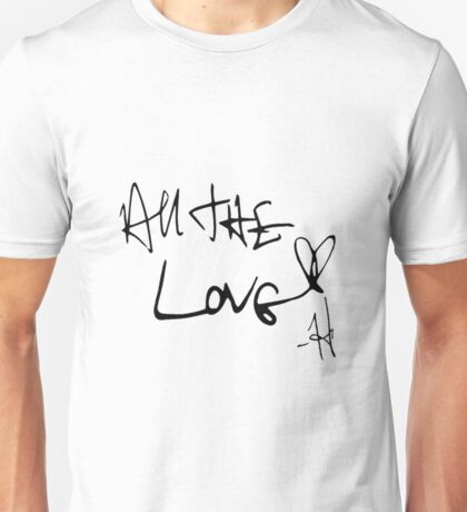 One Direction All the Love Unisex T-Shirt