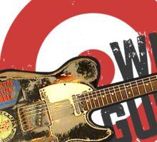 PSA With Guitar Sticker