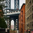 Manhattan Bridge and Empire State by prbimages