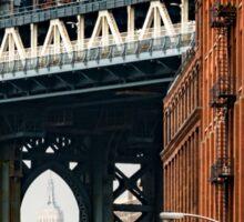 Manhattan Bridge and Empire State Sticker