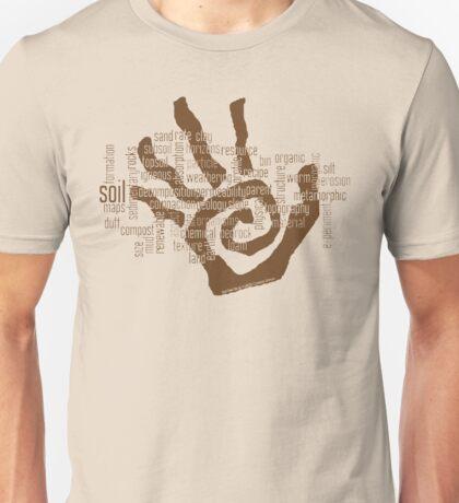 Soil Field Study Words (scb) Unisex T-Shirt