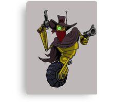 Robot Gunslinger Canvas Print