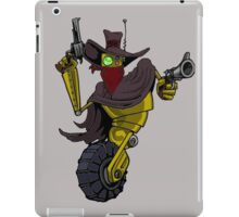 Robot Gunslinger iPad Case/Skin