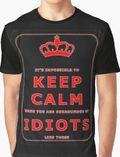 IT'S IMPOSSIBLE TO KEEP CALM Graphic T-Shirt