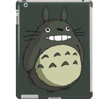 totoro funny smile iPad Case/Skin