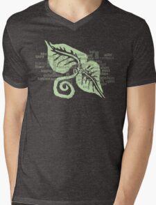 Plants Field Study Words (scw) Mens V-Neck T-Shirt