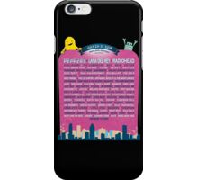 Osheaga lineup 2016 iPhone Case/Skin