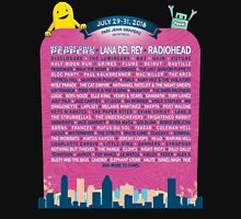 Osheaga lineup 2016 Womens Fitted T-Shirt