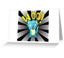 Woo! Greeting Card