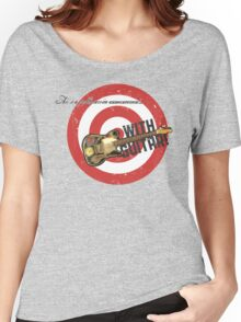 PSA With Guitar Women's Relaxed Fit T-Shirt
