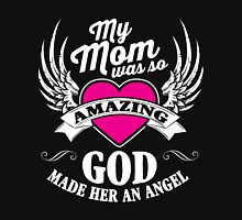 God made her an angel Women's Fitted Scoop T-Shirt