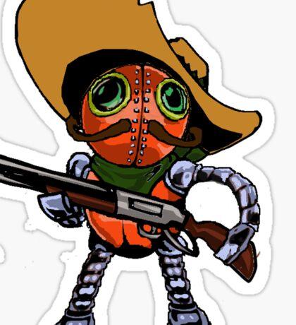 Robot Bandito Sticker