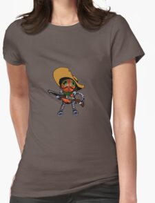 Robot Bandito Womens Fitted T-Shirt