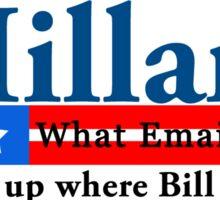 Hillary Emails Sticker