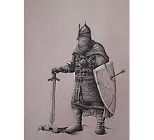 Russian Knight Photographic Print