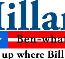 Hillary Benghazi Sticker