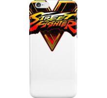 Street Fighter 5 Logo iPhone Case/Skin