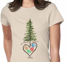 "Tree by Ivy ""Bamboo"" Kiley Womens Fitted T-Shirt"